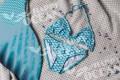 Хвост русалки бирюзового цвета