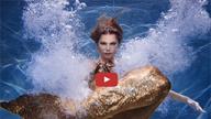 Хвост русалки для плавания